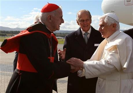Benedict XVI, Keith O&#039;Brien