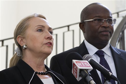 Hillary Rodham Clinton, Alioune Badara Cisse