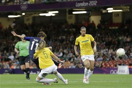 London Olympics Soccer Women