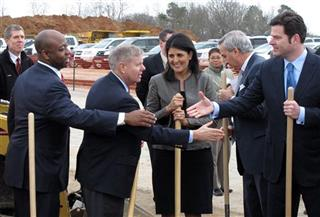 Nikki Haley, Lindsey Graham, Tim Scott, Mike McClellan