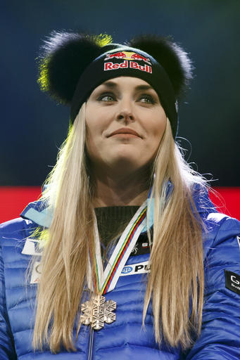 Switzerland Alpine Ski Worlds Women Downhill