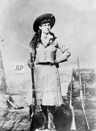 Associated Press Domestic News United States ANNIE OAKLEY