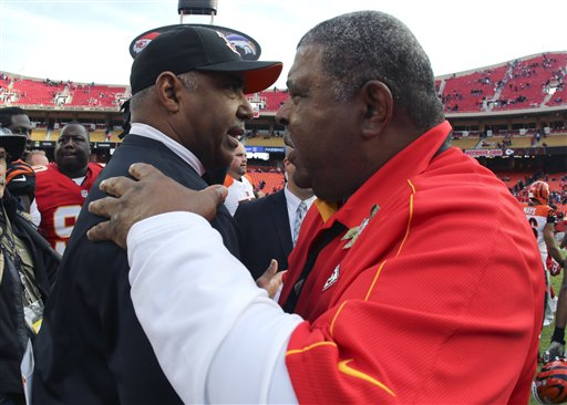 Marvin Lewis, Romeo Crennel