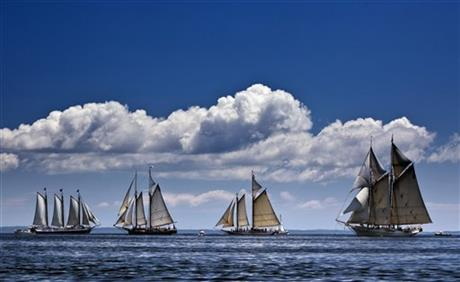 Travel-Trip-Maine Windjammer