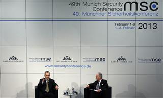 Ehud Barak, Wolfgang Ischinger