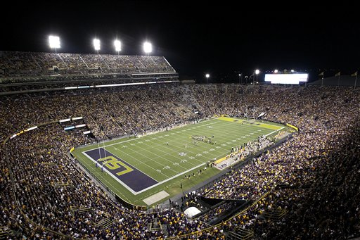 Idaho LSU Football