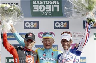 Alexandre Vinokourov, Alexandr Kolobnev, Alejandro Valverde