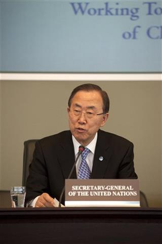 Netherlands Chemical Weapons Ban Ki-moon