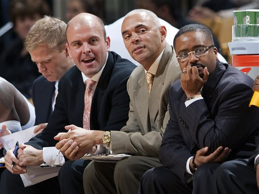 Dave Leitao, Rick Carter, Frank Haith