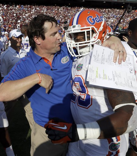 Will Muschamp, Mike Gillislee