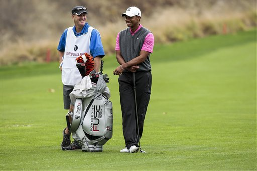 Tiger Woods, Joe LaCava