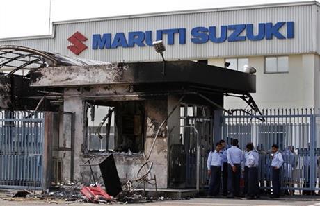 India Maruti Suzuki Labor Unrest