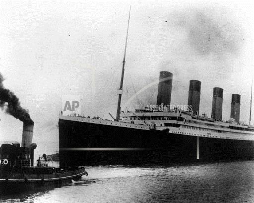 Associated Press International News United Kingdom England TITANIC