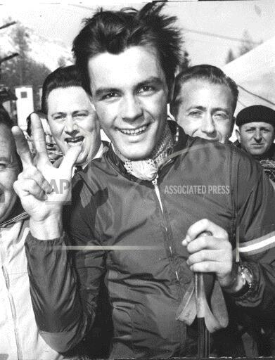 Associated Press Sports Italy Olympics SAILER WINS THREE OLYMPIC GOLDS 1956