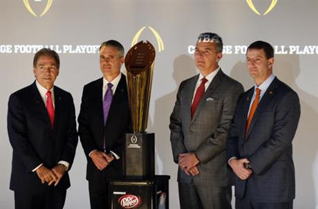 Nick Saban, Chris Petersen, Urban Meyer, Dabo Sweeney