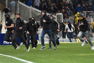 Greece Soccer Violence