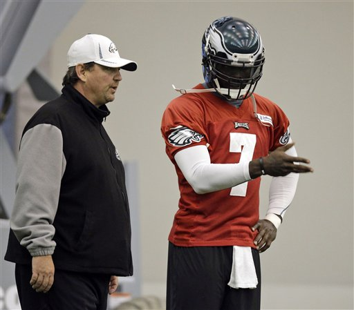 Marty Mornhinweg,  Michael Vick