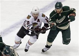 Jason Pominville,  Patrick Sharp