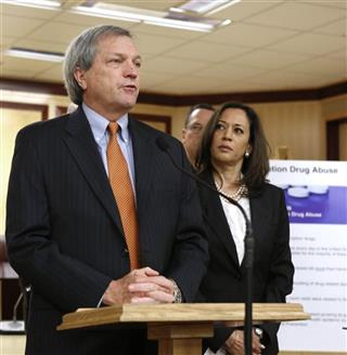 Mark DeSaulnier, Kamala Harris