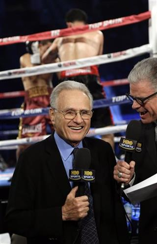 Larry Merchant, Jim Lampley