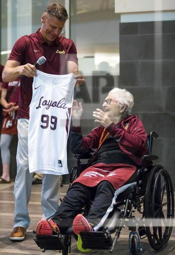 Sister Jean celebrates her 99th birthday at Loyola University Chicago