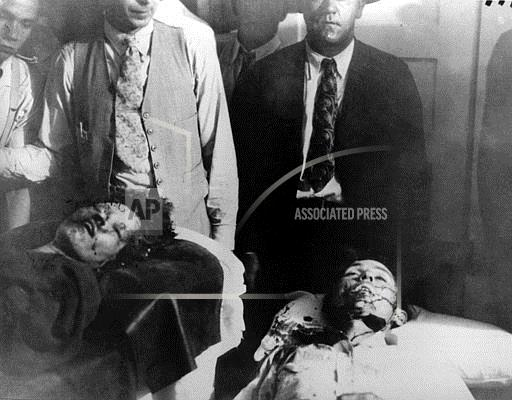 Associated Press Domestic News Louisiana United States BONNIE AND CLYDE DEATH