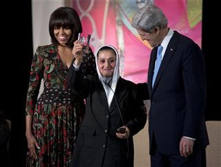 John Kerry, Michelle Obama, Malalai Bahaduri