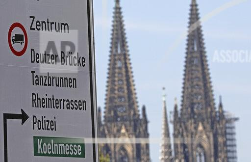 Cologne imposes transit ban on trucks
