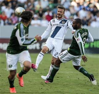David Beckham, Franck Songo'o, Mike Chabala