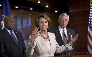 Nancy Pelosi, Steny Hoyer, Jim Clyburn