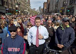 Boston Marathon Moment of Silence