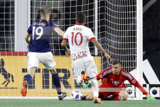 SOCCER: JUN 02 MLS - NY Red Bulls at New England Revolution