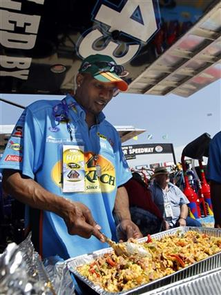 NASCAR Blog Cooking For The King