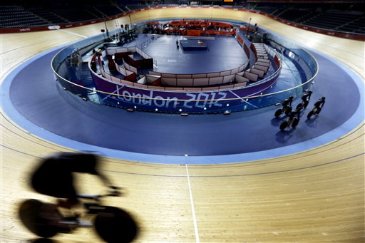 APTOPIX London Olympics Cycling