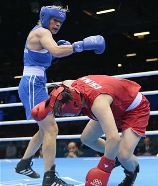 London Olympics Boxing Women