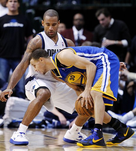 Stephen Curry, Dahntay Jones