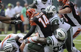 Andy Dalton, Leonard Williams, Muhammad Wilkerson