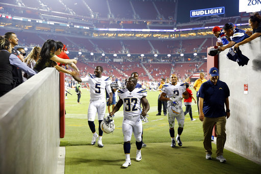 Chargers 49ers Football