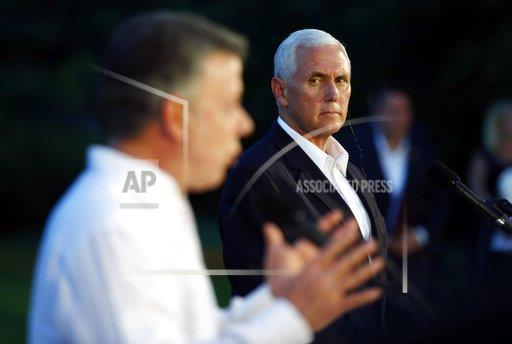 Colombia US Pence Trip