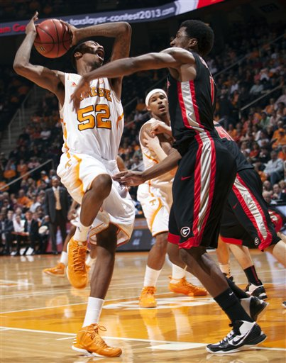 Georgia Tennessee Basketball
