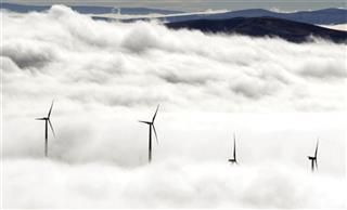 TURBINES ABOVE THE CLOUDS