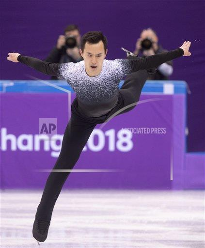 Watchf AP S OLY  CAN CPOTK Pyeongchang Olympics Figure Skating Men