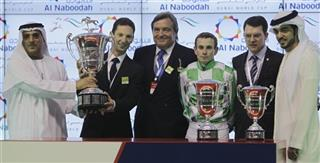 Mideast Emirates Dubai World Cup Horase Race