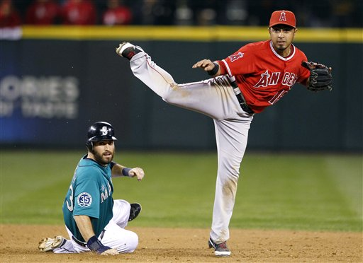 Maicer Izturis, Dustin Ackley