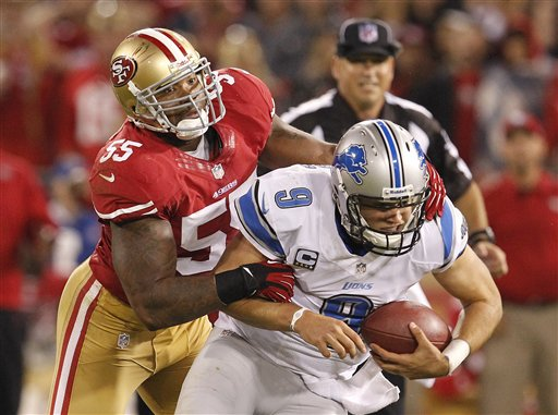 Ahmad Brooks, Matthew Stafford