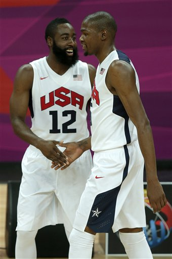 James Harden, Kevin Durant