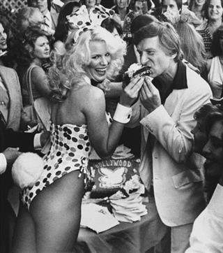 Hugh Hefner Los Angeles 1980