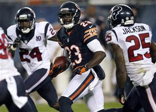 Devin Hester, Kareem Jackson, Johnathan Joseph