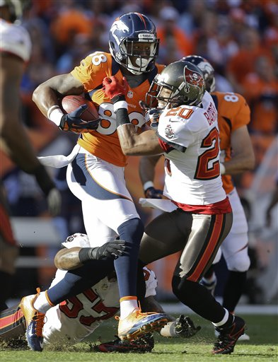 Demaryius Thomas, Ronde Barber