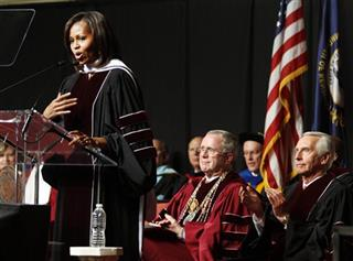 Michelle Obama, Steve Beshear, Dr. Charles D. Whitlock